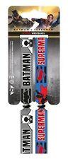 BATMAN V SUPERMAN Pack Of 2 Fabric Festival Wristbands BY PYRAMID FER68057