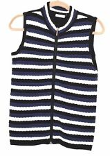 Hand-wash Only Striped Regular Size Vests for Women