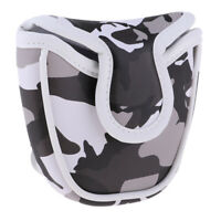Golf Mallet Head Cover Universal Putter Protector with Camouflage Pattern