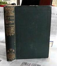 Alcott. LITTLE WOMEN 1880 printing Part Second
