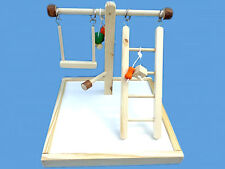 BIRD TOY PLAY GYM,PLAY PEN-WITH SWING-TOYS-AND LADDER
