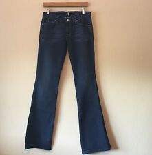Seven 7 for All Mankind Women's A Pocket Jeans Bootcut Dark Wash Blue Sz 29