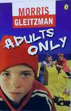 First Edition Adults Only by Morris Gleitzman humorous children's used paperback