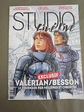Magazine Studio magazine Ciné Line Juin 2016 BESSON