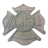 Fireman Maltese Cross, Cross,Fireman Metal Cross, Maltese, Cross Fireman Decor
