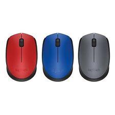 Genuine Logitech Wireless Optical Mouse M170 For Laptop Macbook PC - Blue