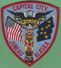 JUNEAU ALASKA POLICE PATCH STATE CAPITAL