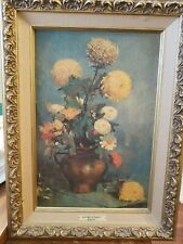 "Vintage Windsor Art Product  "" Autumn Bouquet "" by Margot Framed 22 X 17"