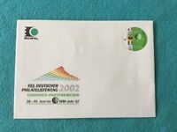 Messebrief Deutschland:103.Deutscher Philatelistentag 2002 Garmisch-Patenkirchen