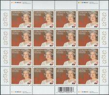 GOLDEN JUBILEE = QUEEN ELIZABETH II = Full sheet of 16 Canada 2002 #1932 MNH VF