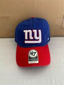 New York Giants NFL '47 Brand Blue Two Tone Clean Up Adjustable Hat New