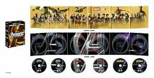 Avengers 3-Movie Collection 4K UHD 1-3 [Blu ray] Collector's Edition - RARE