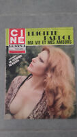 Ciné Rivista - N°50 - 1974 - Ma Vita Mes Amours - Brigitte Bardot