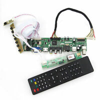 TV+HDMI+VGA+USB LCD LED Controller Board kit for QD15TL04/QD15TL02 1280X800 WXGA