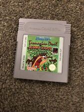 Nintendo Gameboy Tasmanian Devil Island Chase UKV VGC