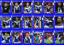 Birmingham City 2011 Football League Cup final winners trading cards