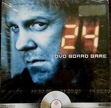 24 DVD Board Game CTU Agent Jack Bauer Series Teens & Adults Action Story Lines