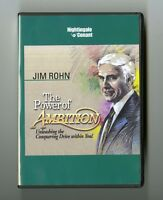 The Power of Ambition: Unleashing the Conquering Drive Within You!: Jim  Rohn