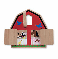 Melissa & Doug Peek-a-Boo Barn Baby & Toddler Toy #4035 BRAND NEW