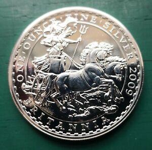 2009 Royal mint britannia 1oz fine silver coin #209
