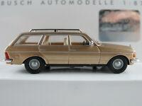 Busch 46844 Mercedes-Benz W 123 T-Mod. (1977) in champagnermet. 1:87/H0 NEU/OVP
