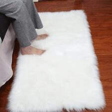 Fluffy Rugs Bedroom Furry Carpet Bedside Sheepskin Area Children Play Room Decor
