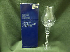 VTG. TOWLE AUSTRIAN LEAD CRYSTAL 2 PC. HURRICANE LAMP EXC. COND.2 AVAILABLE