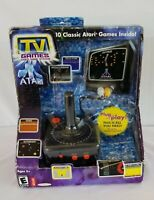 Jakks ATARI 10 Classic TV Games Plug & Play Pong Asteroids Centipede New in Box