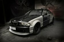 BMW 3 E46 Coupe WideBody Quarter panels overfenders Drift Daily Body Kit 10 pcs.