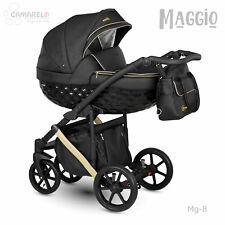 CAMARELO MAGGIO PRAM 3in1 CARRYCOT, PUSHCHAIR, CAR SEAT, FREE ACCS