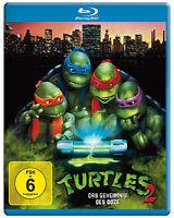 Turtles 2 - Das Geheimnis des Ooze (Teenage Mutant Ninja) Blu-ray Disc NEU + OVP