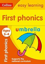 Collins Easy Learning - First Phonics Ages 34