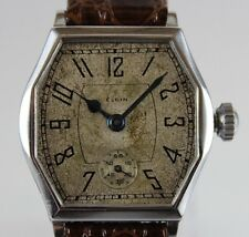 Vintage 1928 Elgin Manual Wind 7 Jewels Grade 447 Model 4 Mens Watch LOT#0412