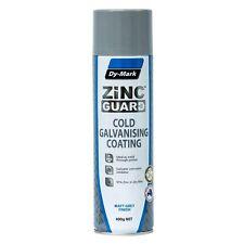 Dy-Mark ZINC GUARD Cold Galvanising Coating Spray 400g Matt Grey Finish