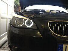 2X LED BMW 5er E60 BMW 1er E87 mit Scheinwerfer ANGELEYES Standlichtringe XENON