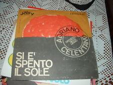 """ADRIANO CELENTANO """" SI E' SPENTO IL SOLE - LA MEZZA LUNA """" ITALY'62"""