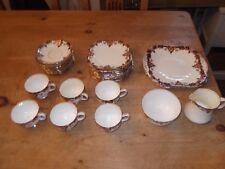 Vintage Fenton Fine Bone China 31 Piece Tea Set - Tarporley No 4954