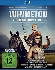WINNETOU - DER MYTHOS LEBT BD  3 BLU-RAY NEU