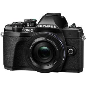 Olympus OM-D E-M10 Mark III Digital Camera with 14-42mm EZ Lens - Black