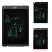 12'' Digital LCD Drawing Board Schreibtafel Notizblock E-Writer Grafiktablet DE