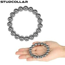 STUDCOLLAR-GLANS-RING - Solid Metal Multi Ball Penis Rings in SEVEN SIZES !!!