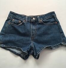 Women's Levi's Shorts Red Tab Blue Denim Junior Size 9