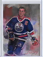 Wayne Gretzky Authentic Artist Signed Limited Edition Artist Signed Giclee Print