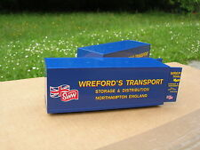 "1//50  LOT 2 CONTAINERS /"" WREDFORD/'S TRANSPORT STORAGE /& DISTRIBUTION /"" !!!"