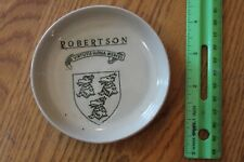 Stoneware Ashtray Vintage Robertson Buchan Portobello Scotland Antique Souvenir