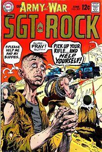 Our Army At War (1952) #207 Joe Kubert Cover & Art SGT Rock Sid Greene-NO RES!!
