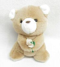 Vtg Russ Berrie Bon Bon Bear Rattle Stuffed Plush Teddy