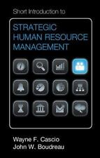 Short Introduction To Strategic Human Resource Management (cambridge Short In...