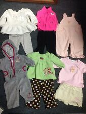 11 Pc Baby Girl Sets Minnie Mouse Disney Owl Pooh Bear Zebra Hot Pink Gymboree