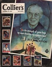 1945 Colliers October 27-Wanted:The Truth about Pearl harbor;POW children;Trucks